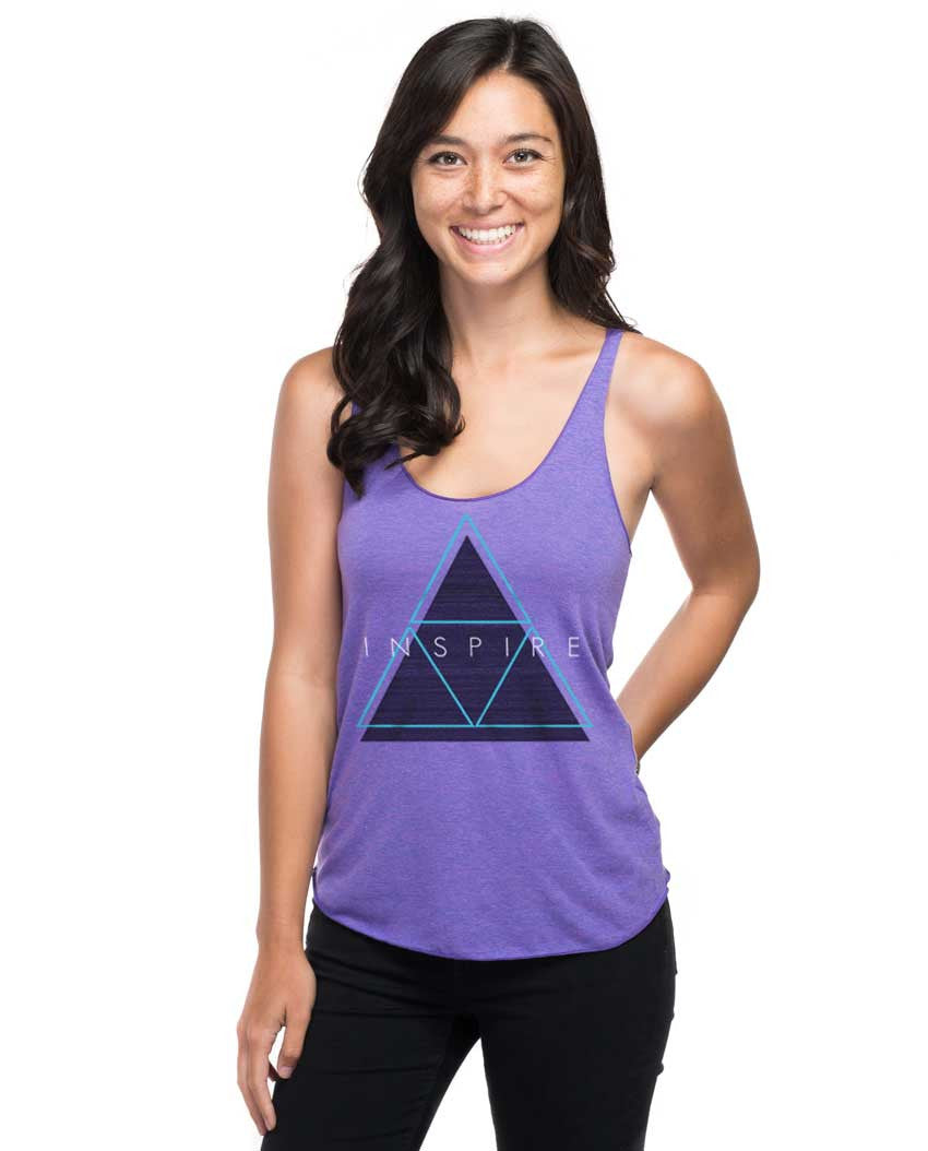 Inspire Fitted Racerback Tank