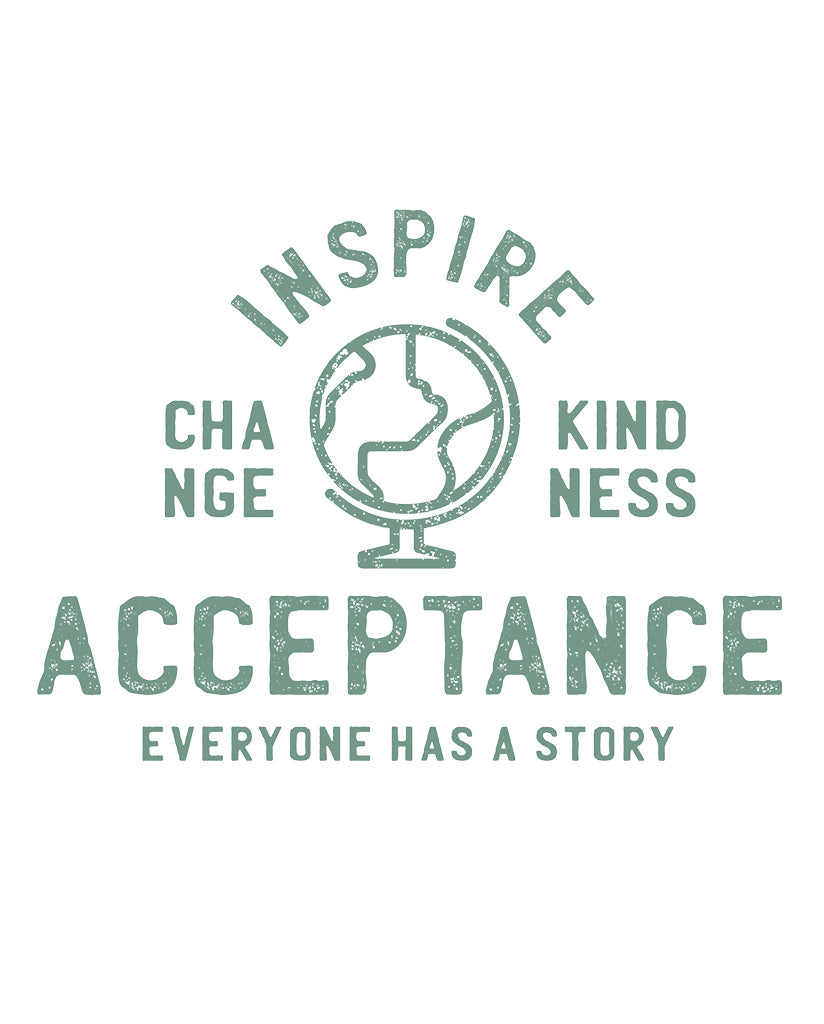 Inspire Acceptance Youth Football Tee