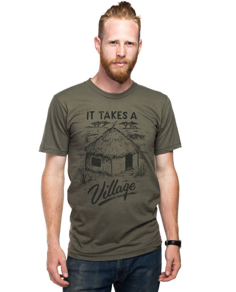 It Takes A Village Fitted Tee