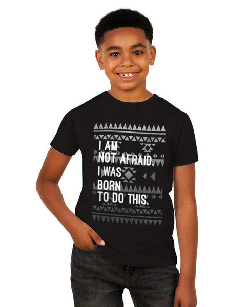 I Am Not Afraid Youth Short Sleeve Tee