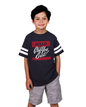 Hello Youth Football Tee