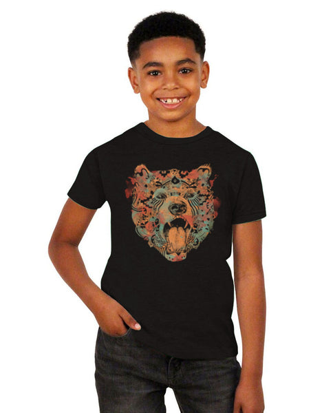 Strong Bear Short Sleeve Youth Tee
