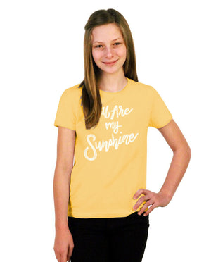 You Are My Sunshine Youth Short Sleeve Tee