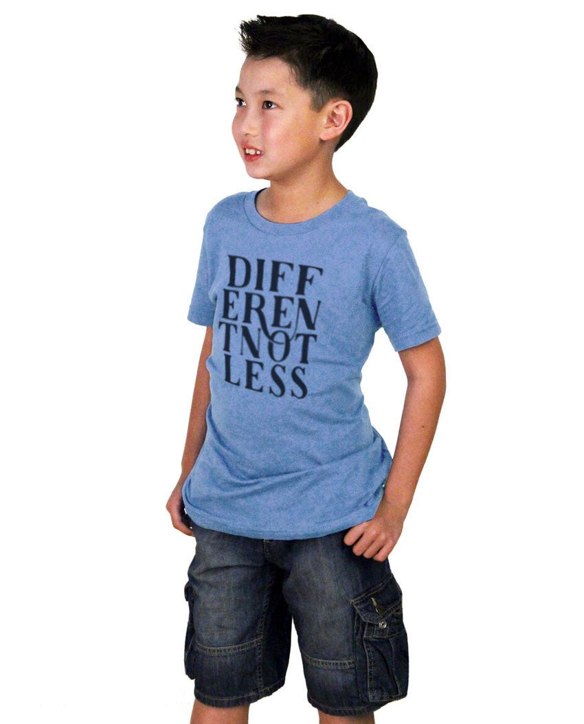Different Not Less Youth Short Sleeve Tee