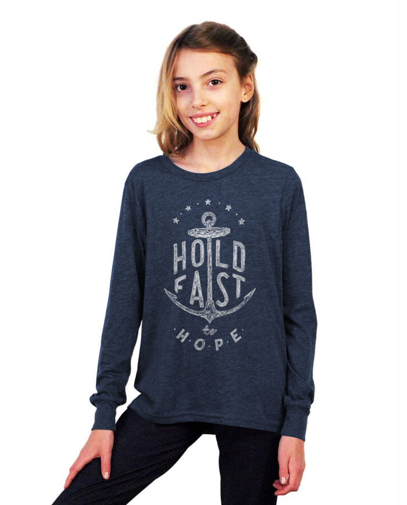 Hold Fast Youth Jersey Long Sleeve Tee