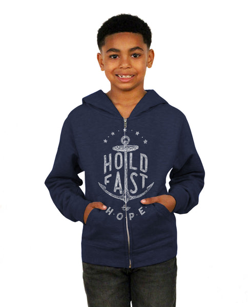 Hold Fast Youth Youth Zip Hooded Sweatshirt
