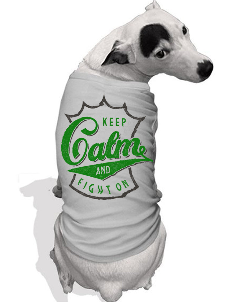 Keep Calm Dog Tee