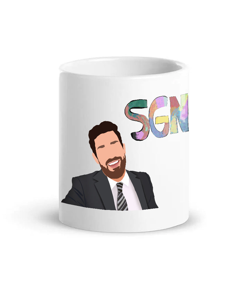 SGN Anchor Coffee Mug