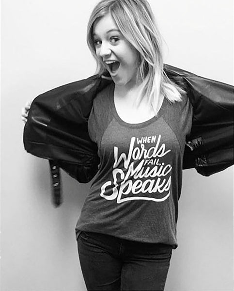 Country music star, Kelsea Ballerini sings for the world, and helps sick kids.