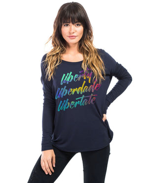 Liberty Flowy Long Sleeve Tee