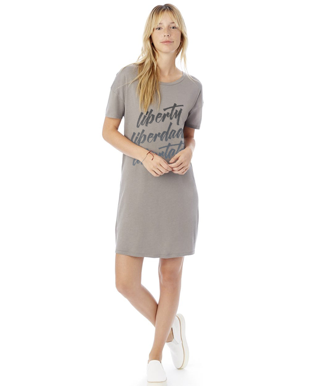 Liberty Women's Cotton Modal T-Shirt Dress