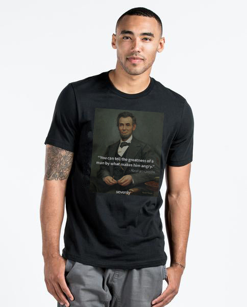 Lincoln Greatness - Mens Premium Fitted Tee
