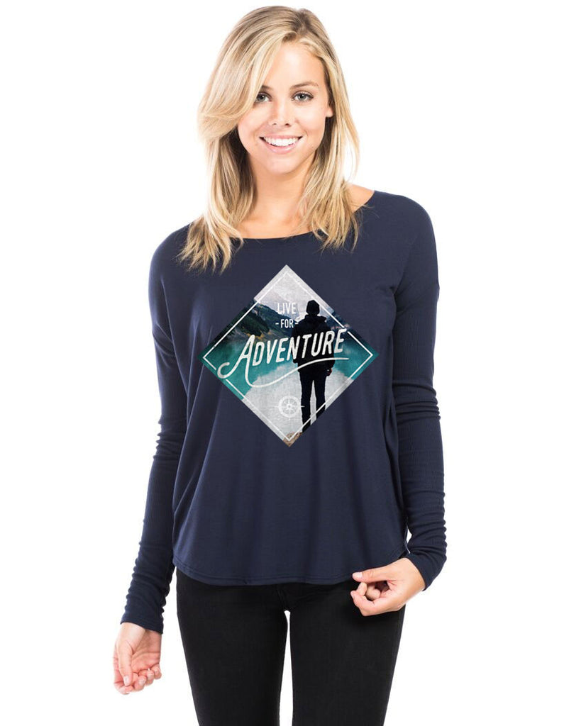 Live For Adventure Flowy Long Sleeve Tee
