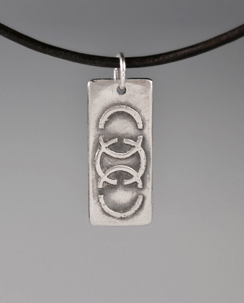 Aquilla LIVE FREE Sterling Silver Totem