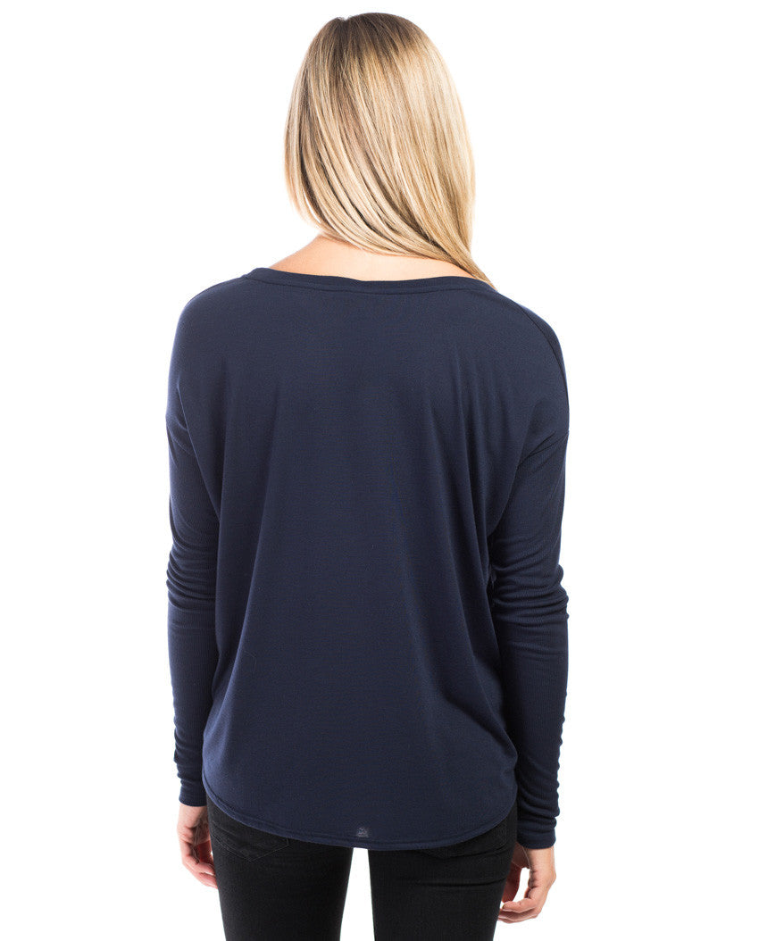 Lotus Flowy Long Sleeve Tee