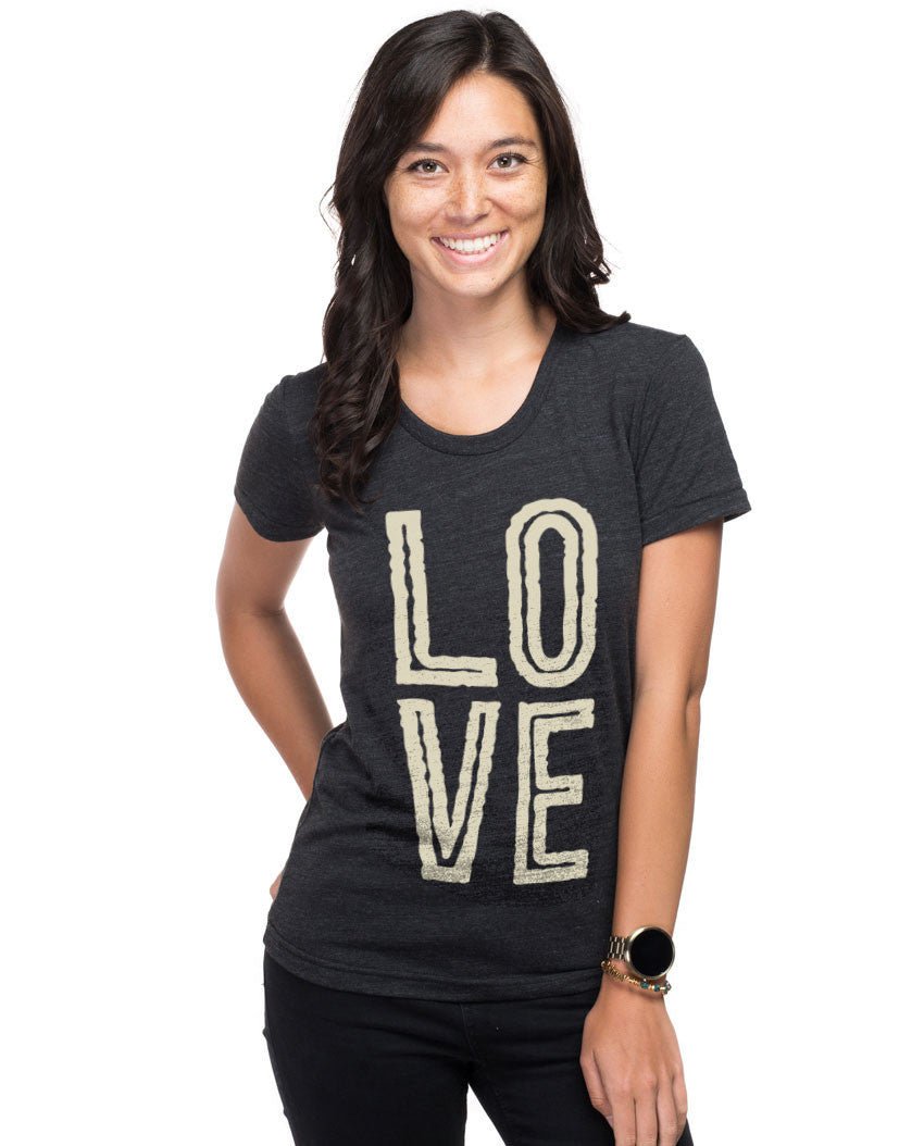 Love Triblend Short Sleeve Tee