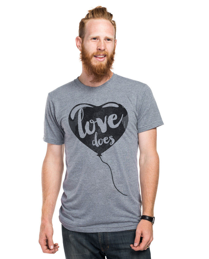 Love Does Fitted Tee