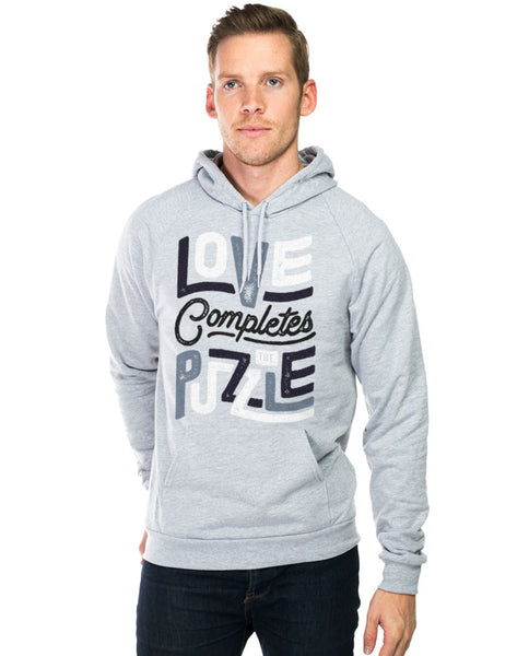 Love Completes The Puzzle Unisex Hoodie
