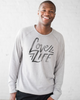 Down Syndrome Awareness - Love Life - Men's Tri-Blend Fleece Pullover Sweatshirt