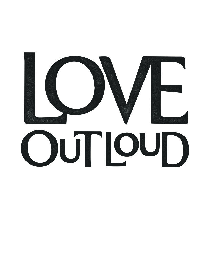 Love Out Loud Womens Triblend Short Sleeve Tee