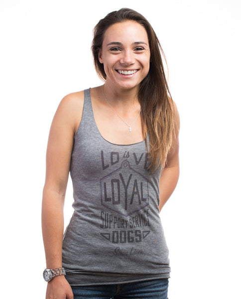 Love Is Loyal Racerback Tank