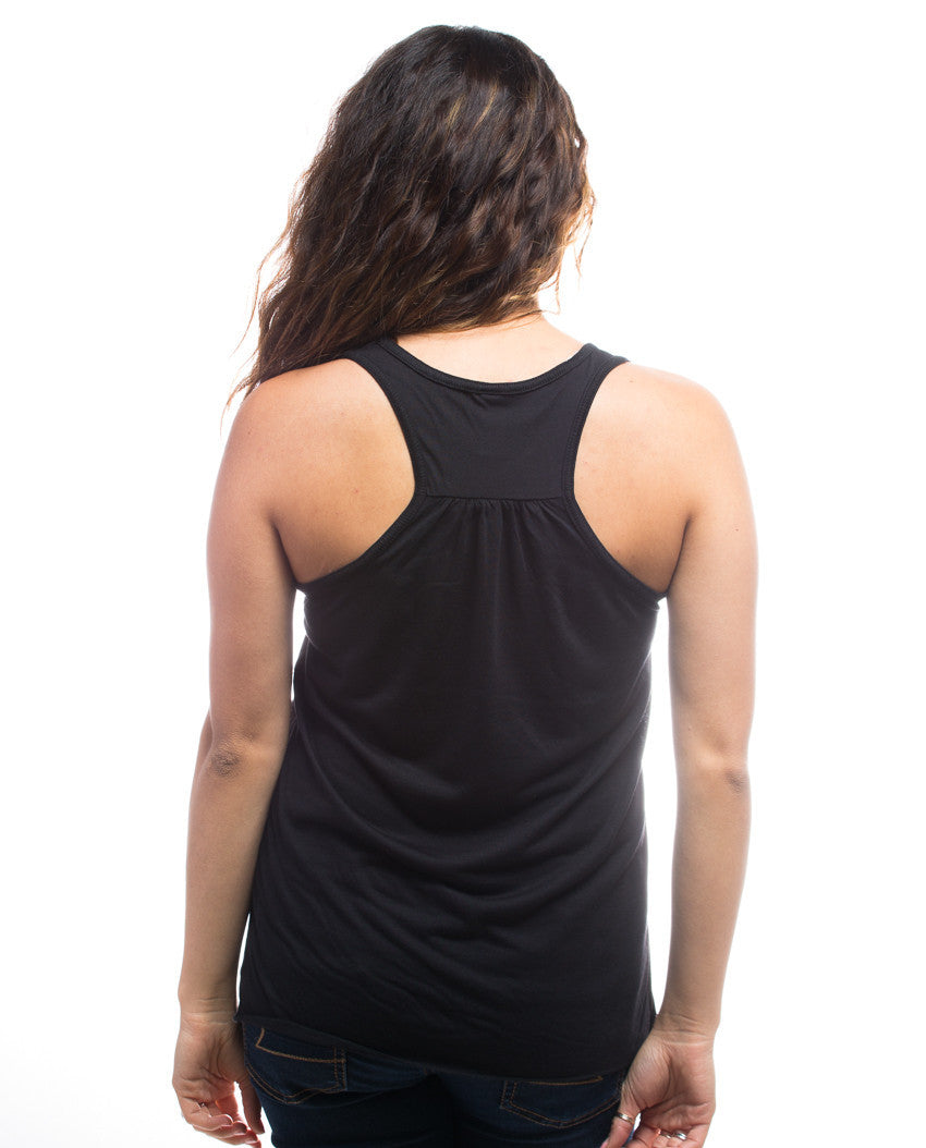 Good Morning Gorgeous Flowy Racerback Tank
