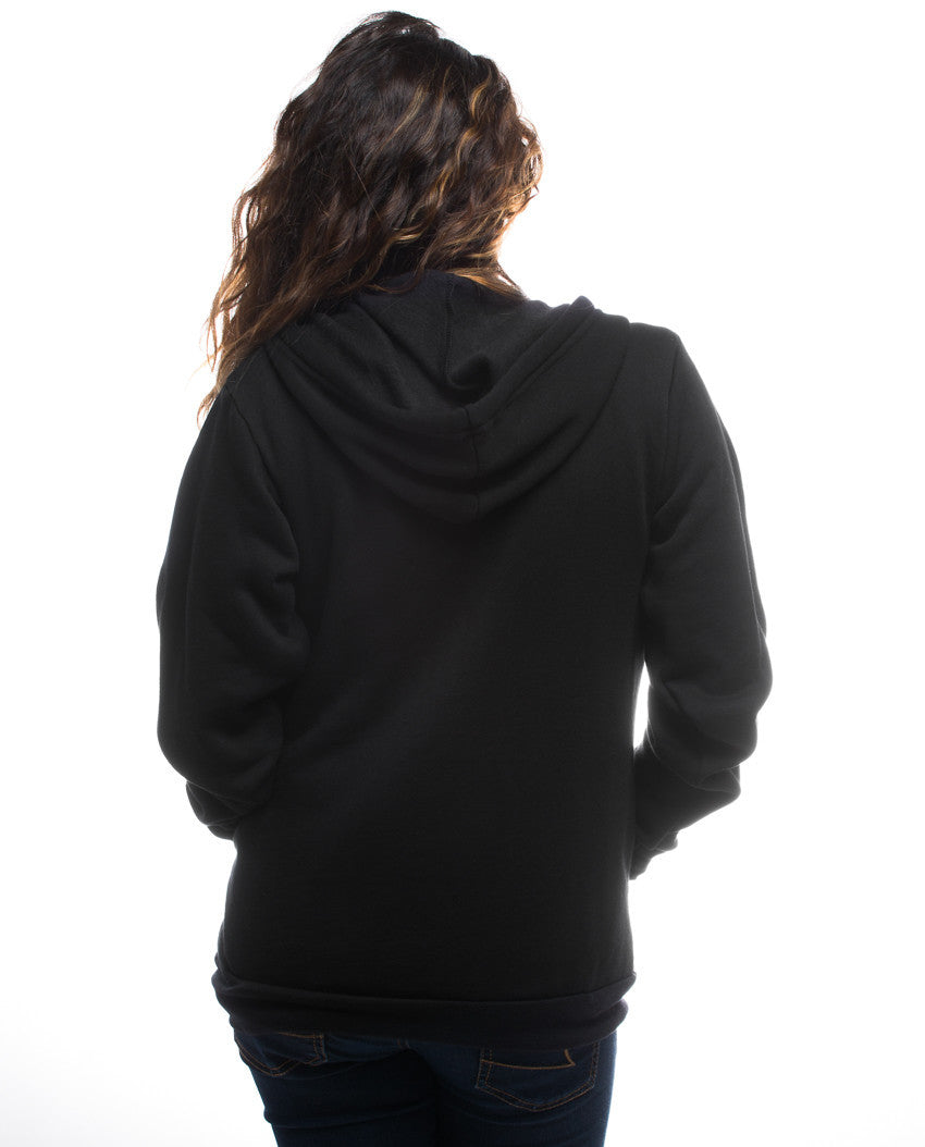 Beauty Is Everywhere Womens Triblend Zip Hoodie