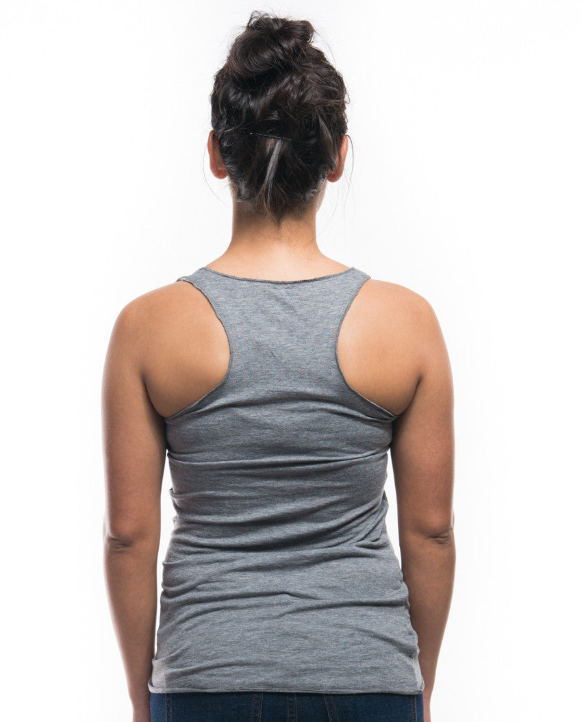 Animals Triblend Racerback Tank