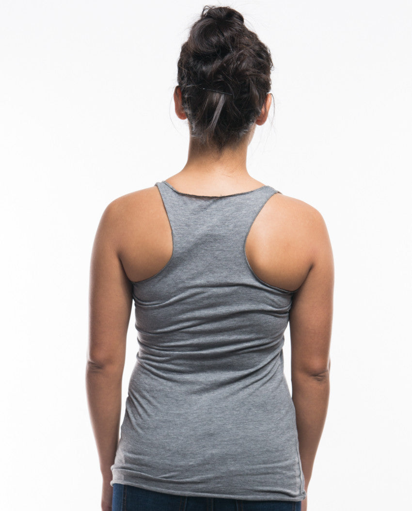 Move Mountains Triblend Racerback Tank
