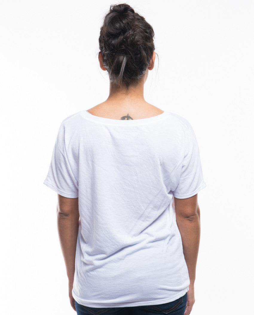 Move Mountains Flowy V Neck