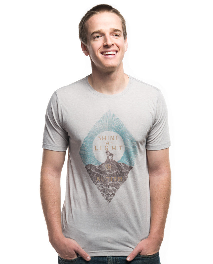 Shine A Light Mens Tee