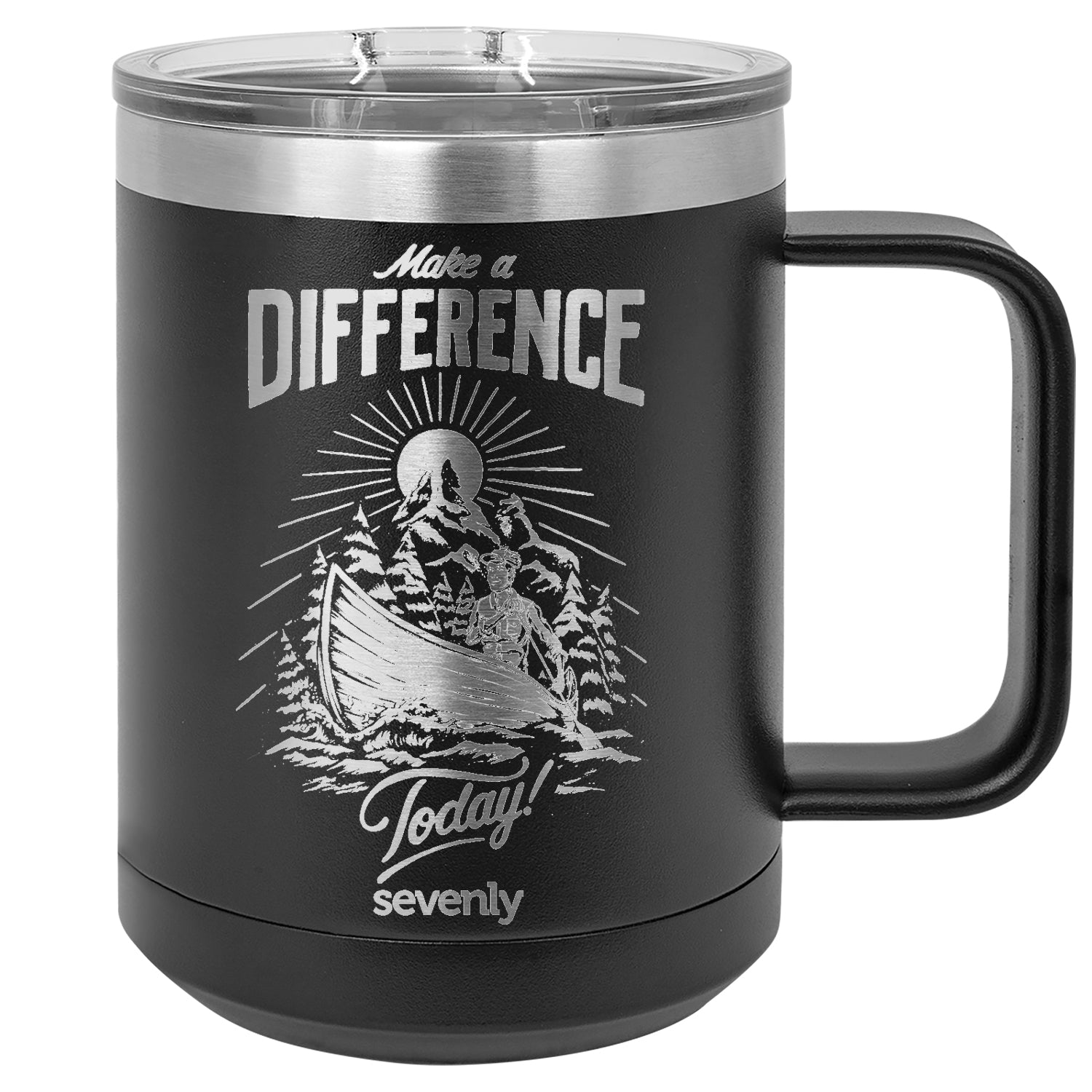 Make A Difference Canoe Insulated Mug Drinkware