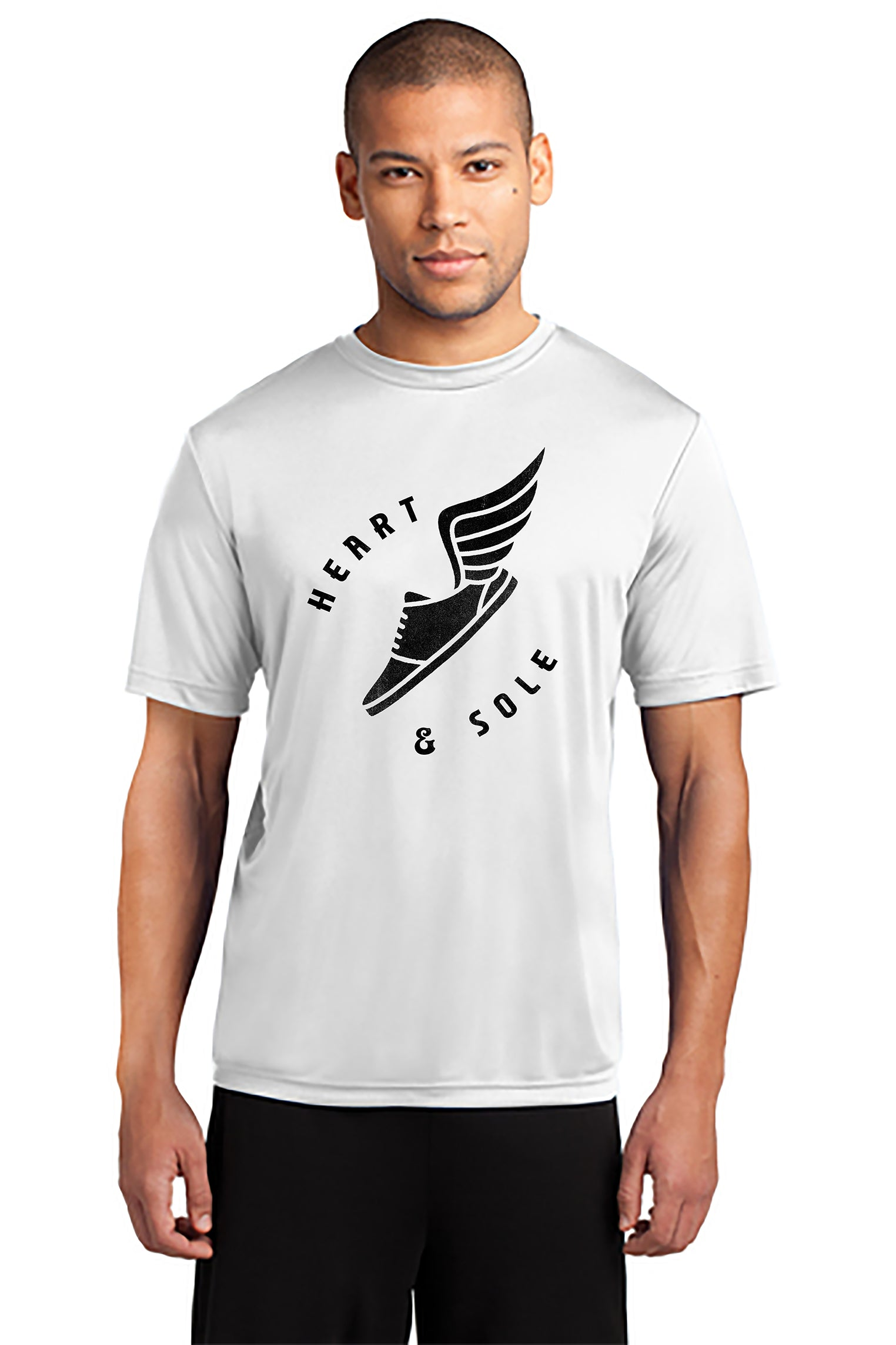 Men's Heart & Sole - Poly Performance Short Sleeve Tee
