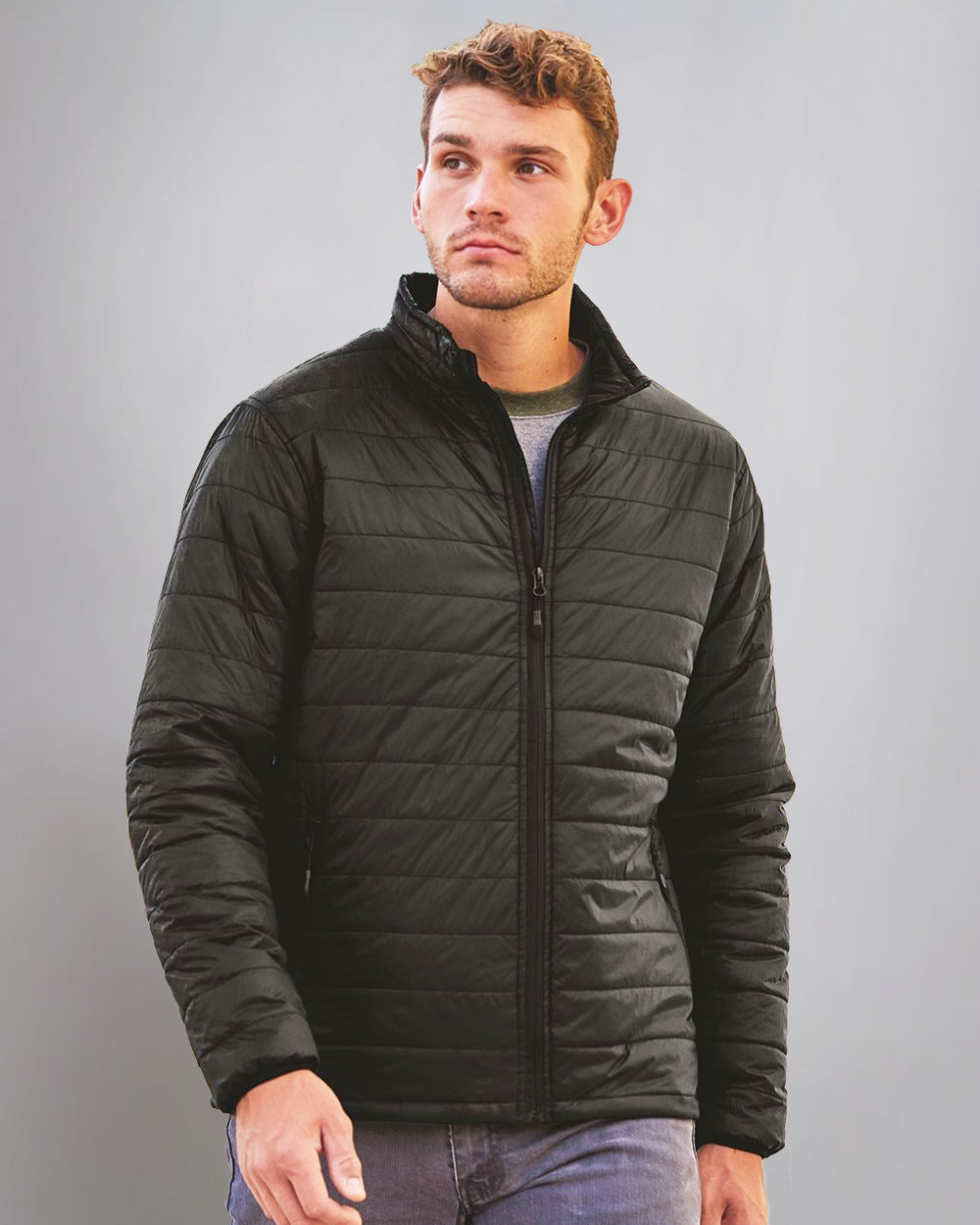 World Changing Men's Hyper-Loft Packable Puffer Jacket