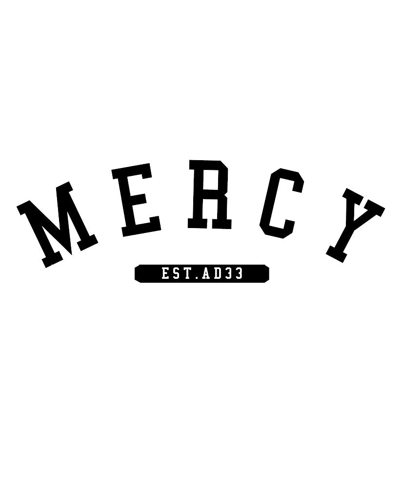 MERCY Womens Heather Grey Slouchy Sweatshirt