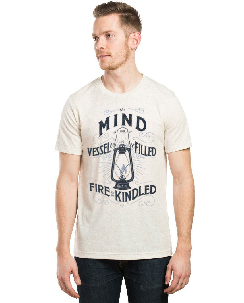Mind Vessel FIre Fitted Tee
