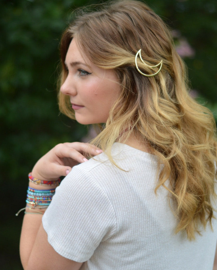 MOON TOP HAIR CLIP by Headbands of Hope
