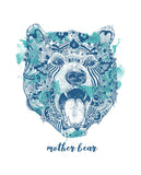 Mother Bear Womens Slouchy Sweatshirt