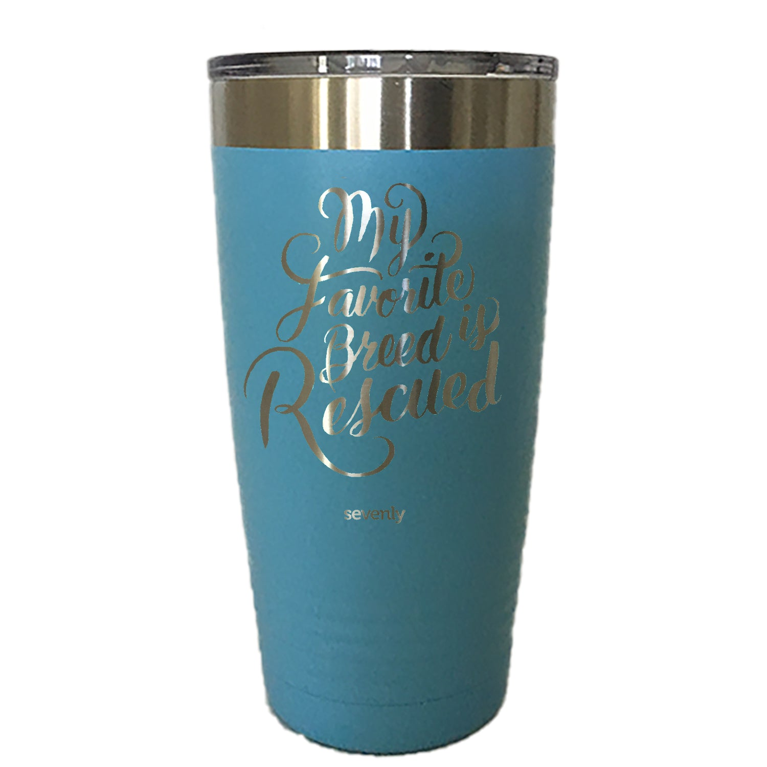 My Favorite Breed Is Rescued - Tumbler Drinkware