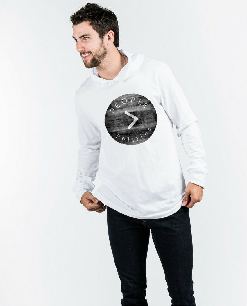 People>Politics Unite Unisex Long Sleeve Hoodie
