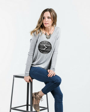 People>Politics Flowy Long Sleeve Tee