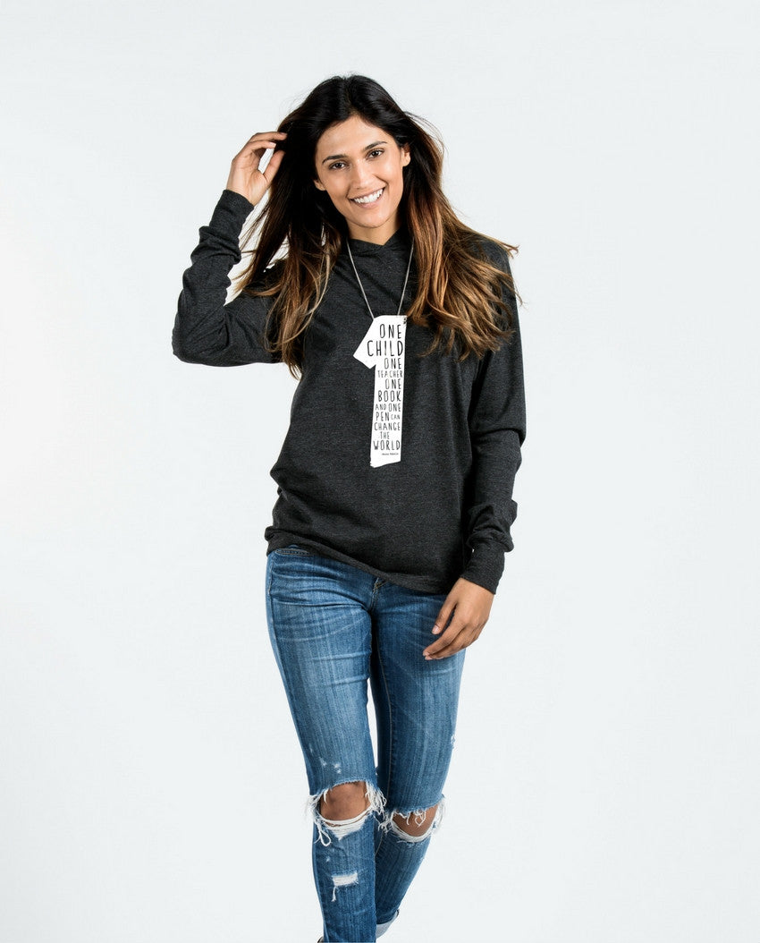 One Child Unisex Long Sleeve Hoodie