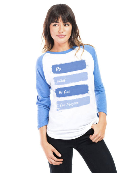 Do What No One Can Imagine Unisex Baseball Tee