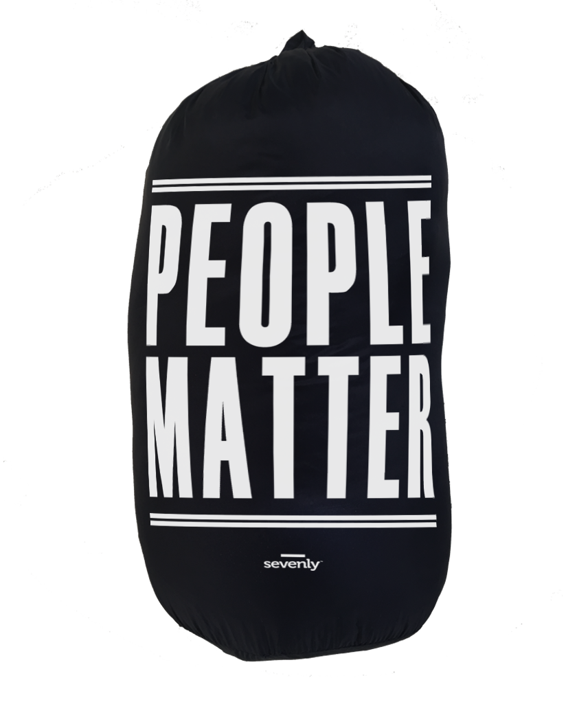 PEOPLE MATTER Weatherproof Down Puffer Packable Blanket