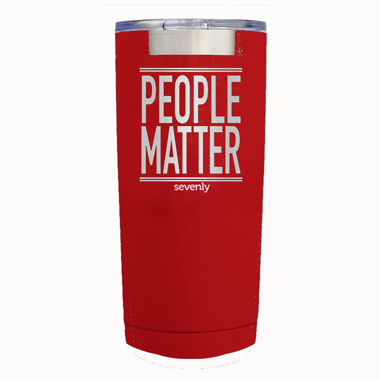 PEOPLE MATTER Tumbler Drinkware