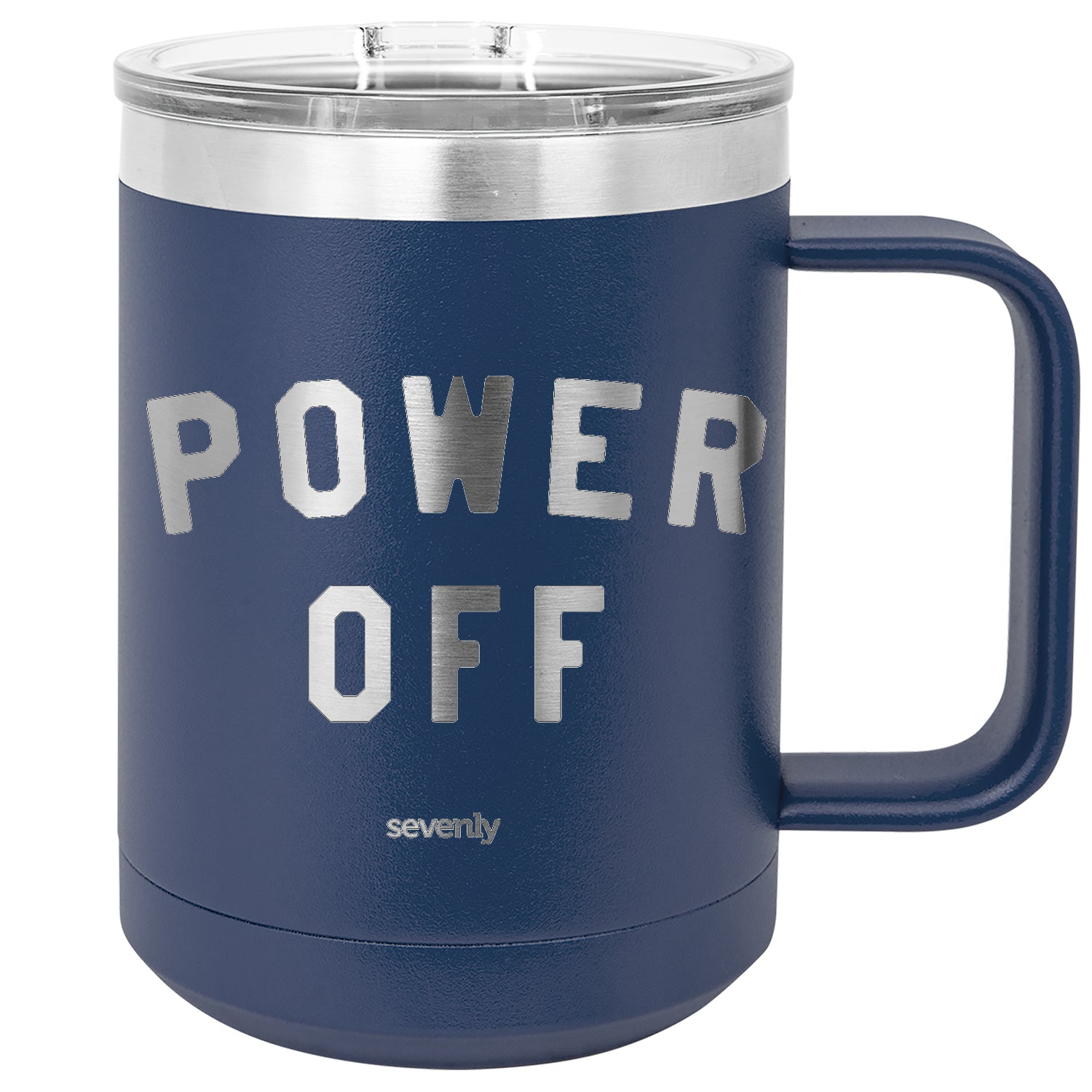 POWER OFF Insulated Mug Drinkware