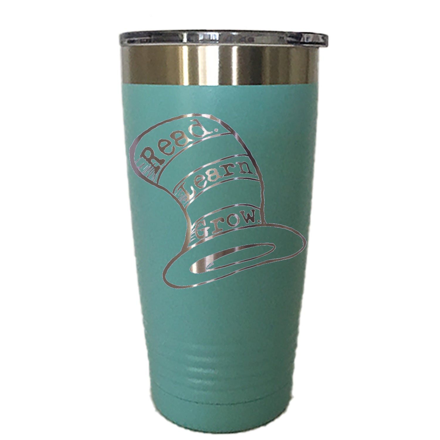 DR. HAT READ LEARN GROW - Tumbler Drinkware