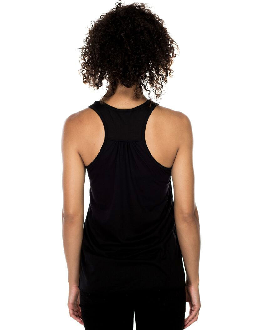 She Believed Flowy Racerback Tank