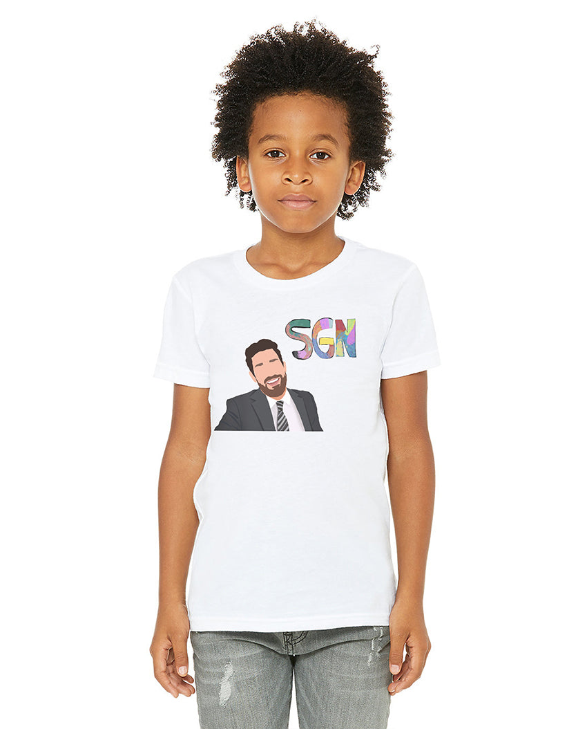 SGN Anchor Art Kids Tee