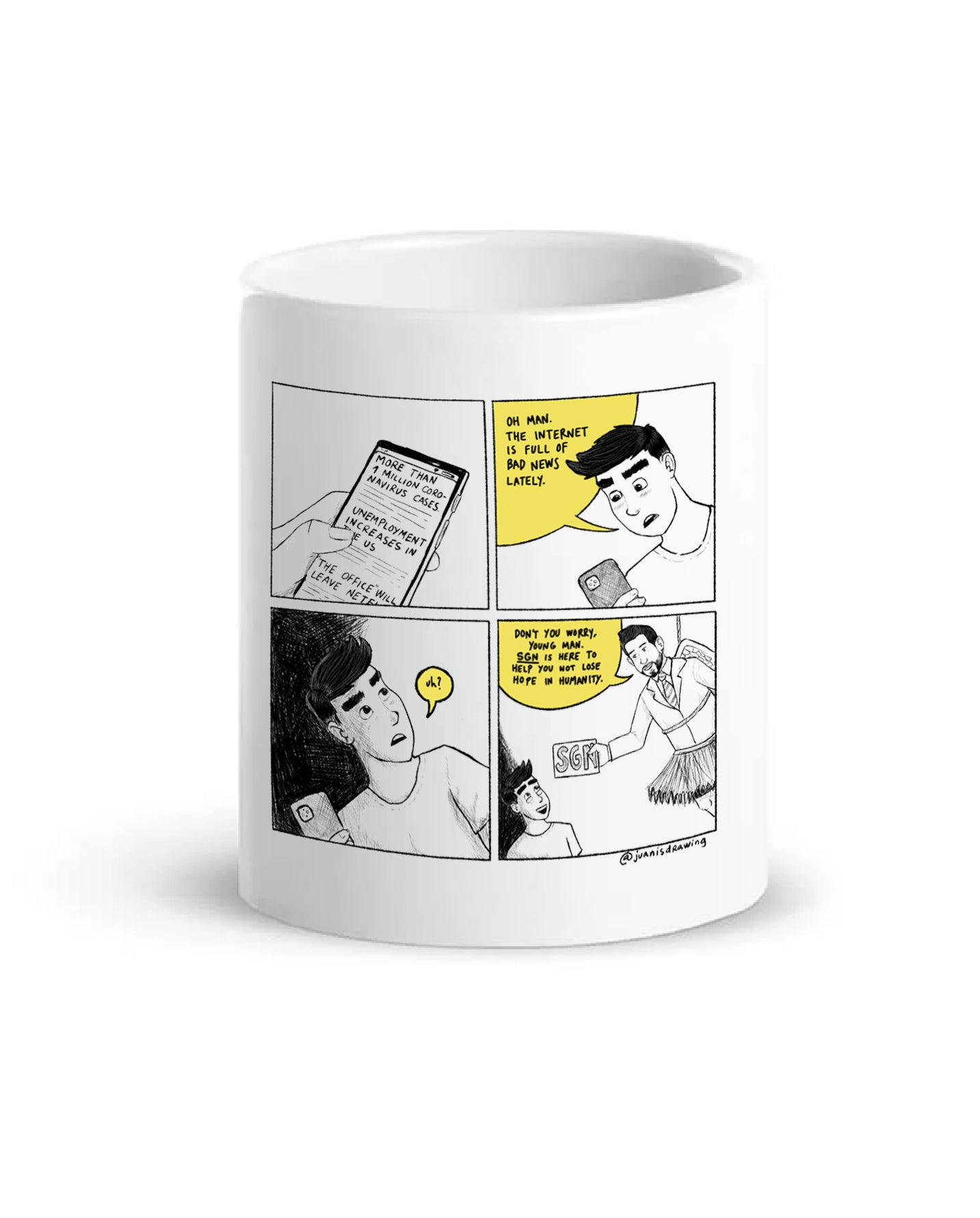 SGN Comic Coffee Mug